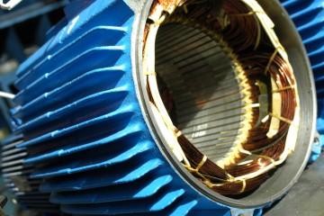 AC motor repair