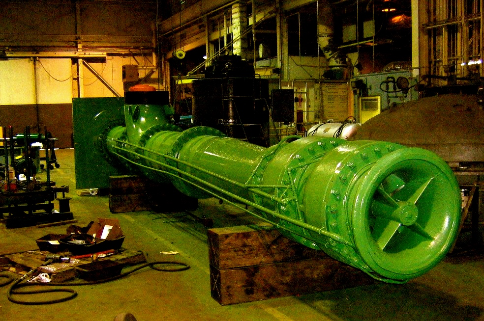 Repair, retrofit, manufacture pump wear wings, ABS/Sulzer, WILO